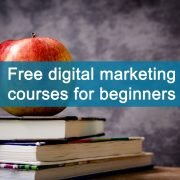 cover photo for article regarding free digital marketing courses