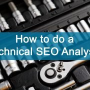 how to do a technical seo analysis