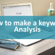 Cover photo for How to make a keyword analysis